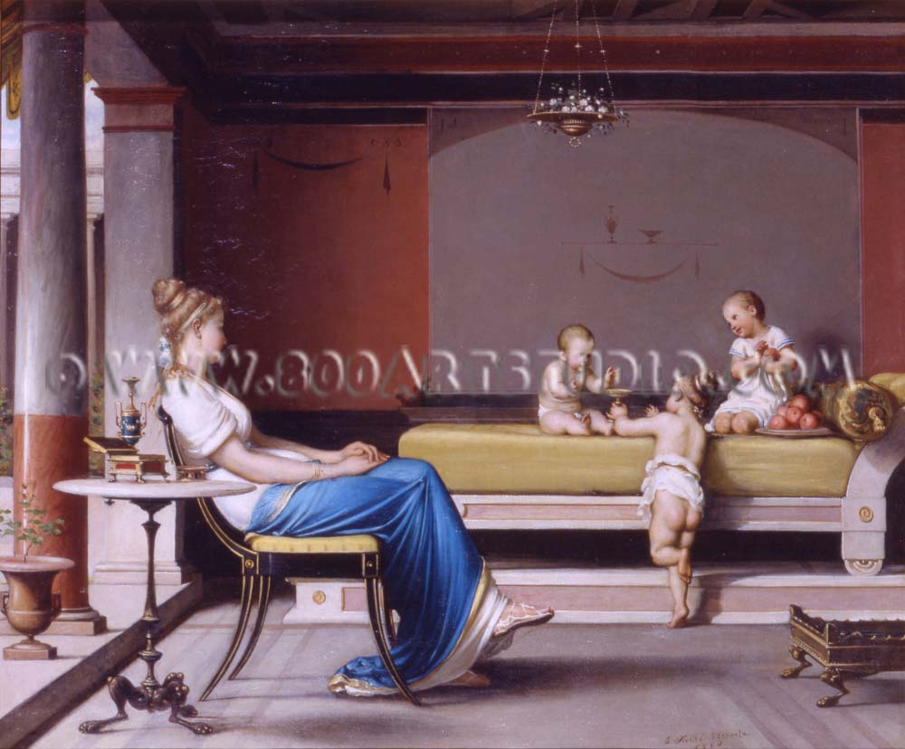 Egisto Sarri - Scena pompeiana