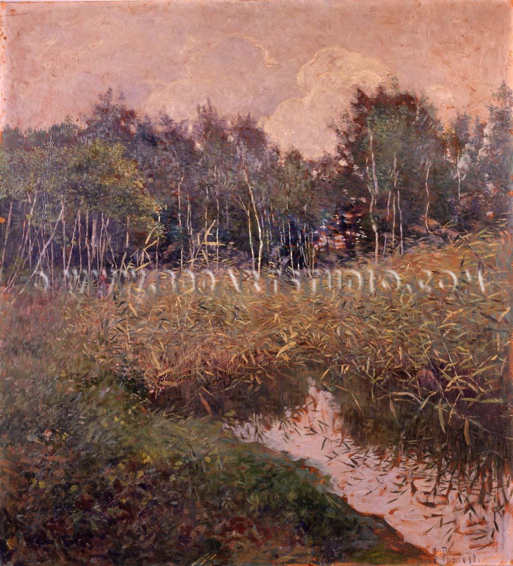 Francesco Fanelli - Paesaggio lacustre