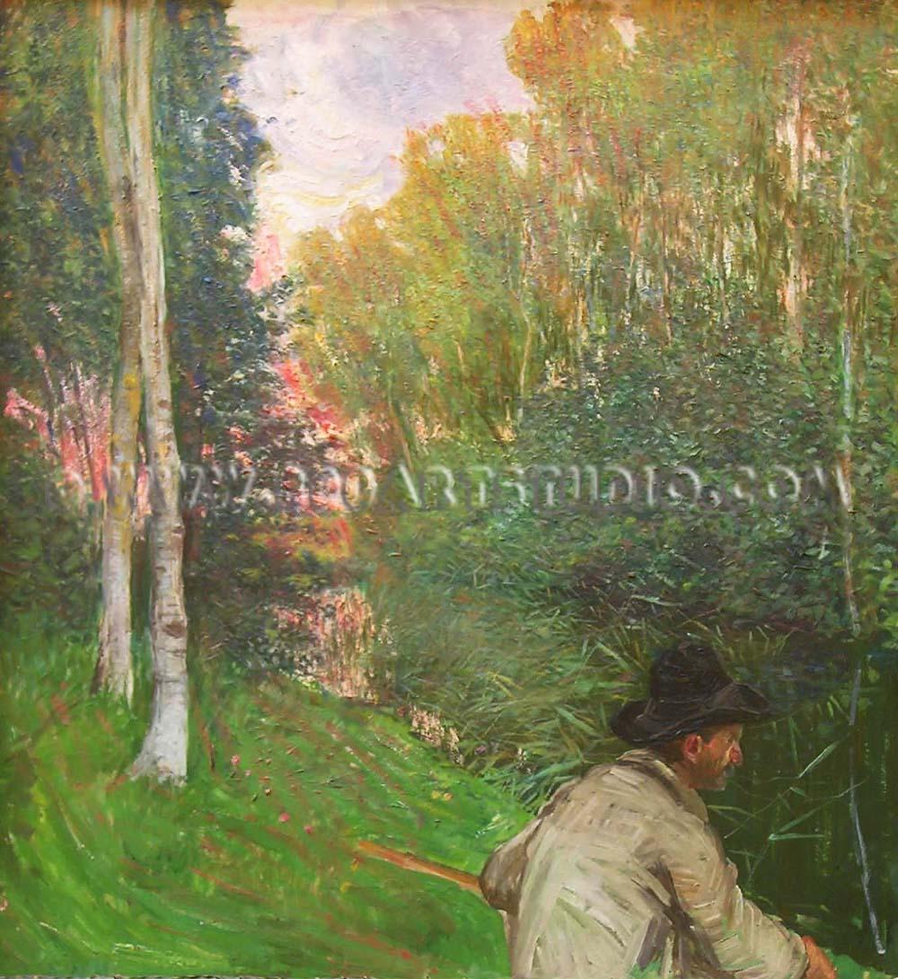 Francesco Fanelli - Tramonto a Torre del Lago