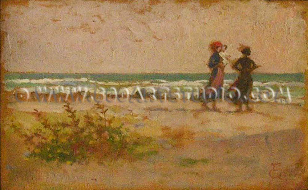 Francesco Gioli - Donne sulla spiaggia