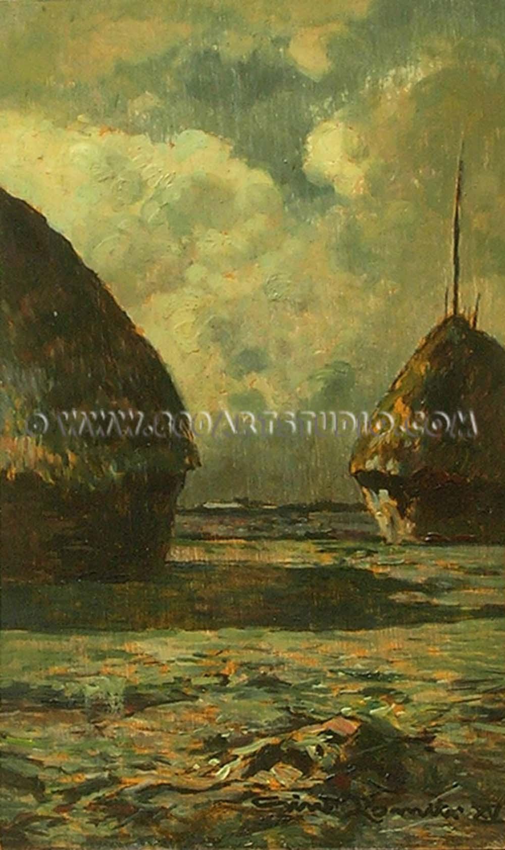 Gino Romiti - Paesaggio toscano