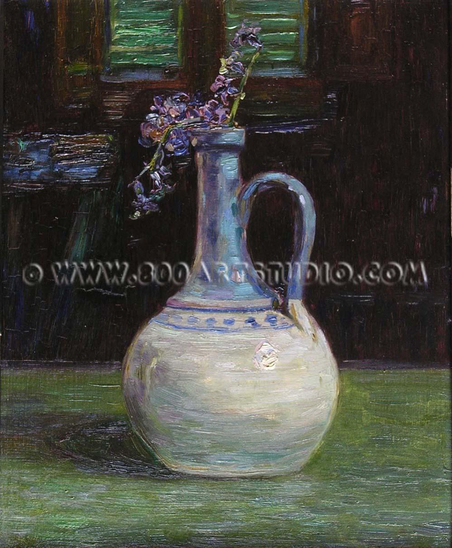 Gino Romiti - Vaso con fiore