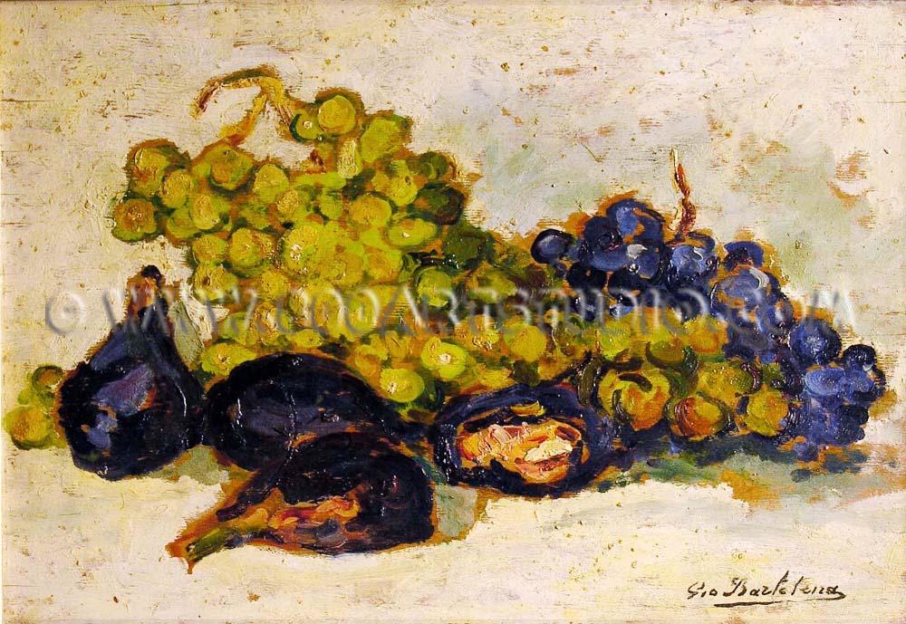 Giovanni Bartolena - Uva e fichi