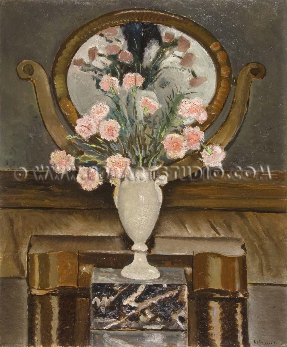 Giovanni Colacicchi - Il vaso bianco