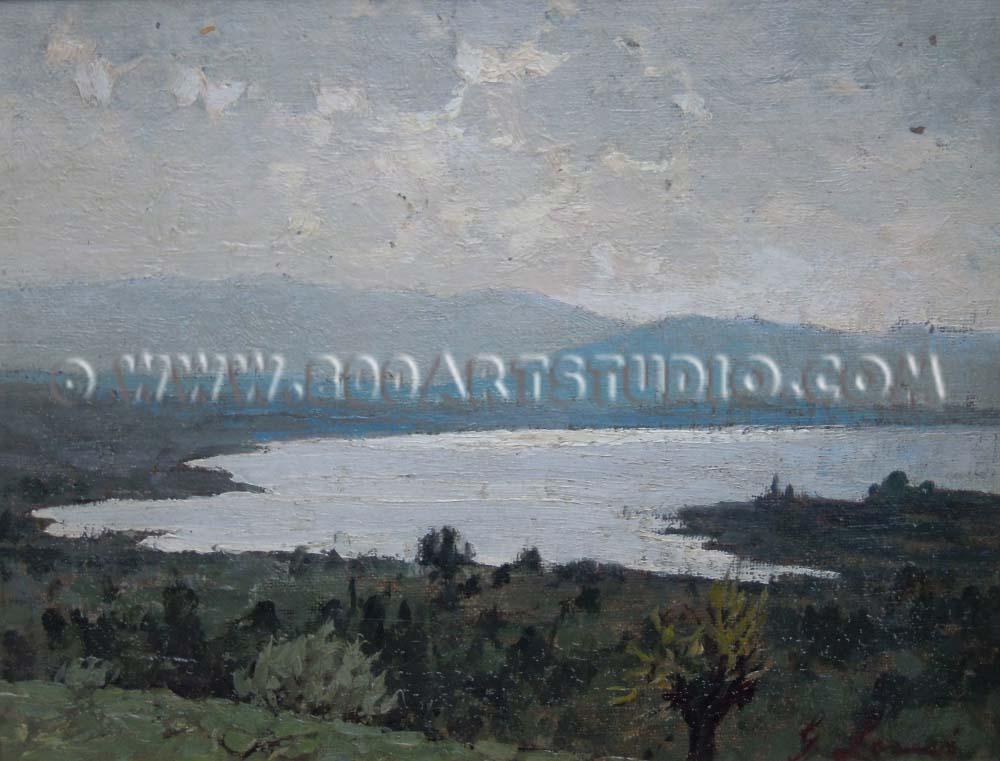 Giovanni Lomi - Sul lago