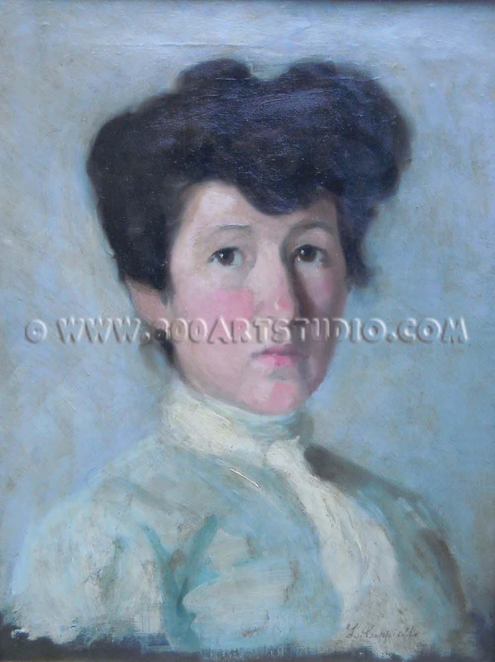 Leonetto Cappiello - Ritratto di giovane donna