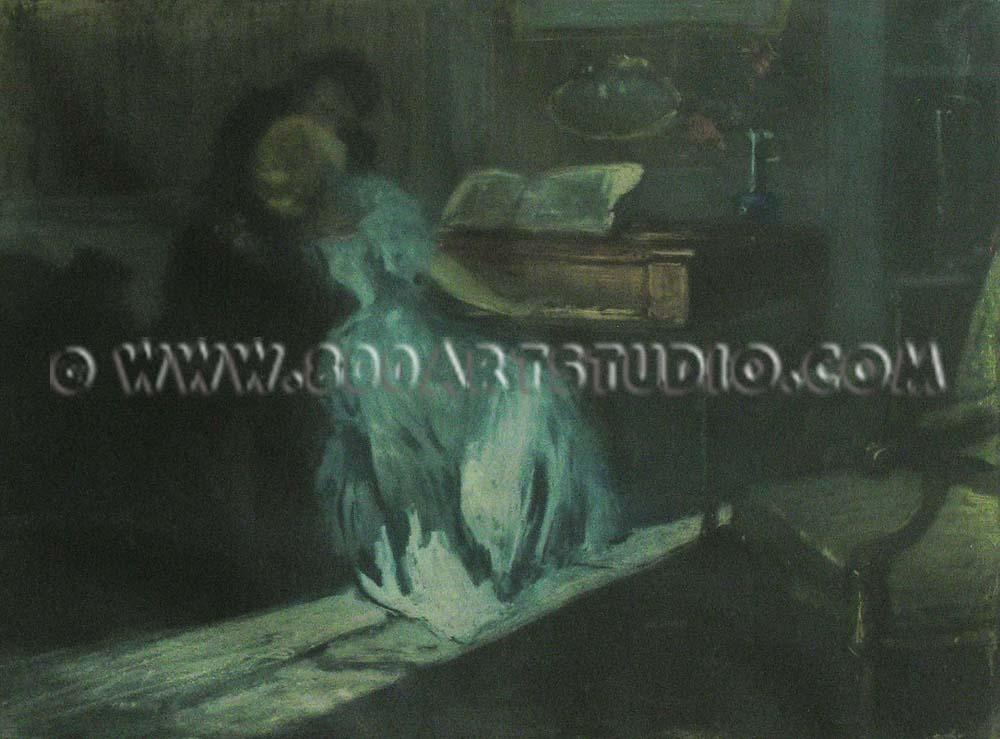 Lionello Balestrieri - Armonie interrotte (il bacio)