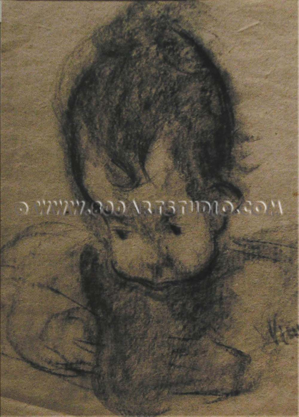 Lorenzo Viani - Testa di fanciullo