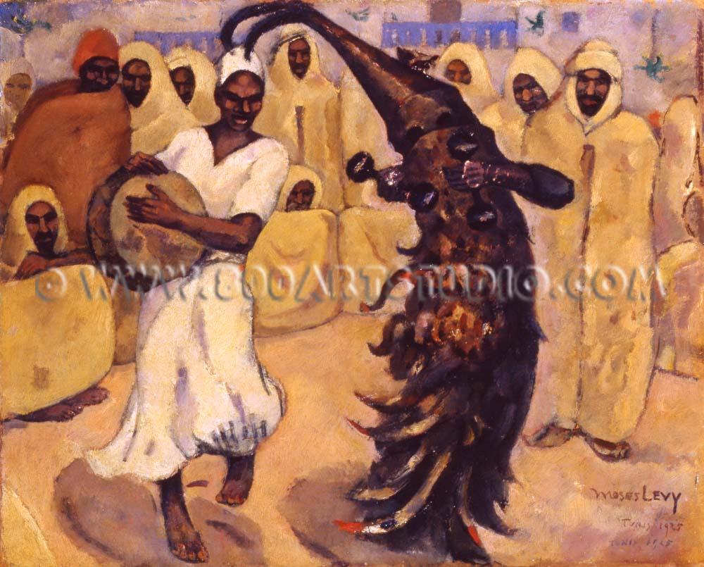 Moses Levy - La danza di Busadia