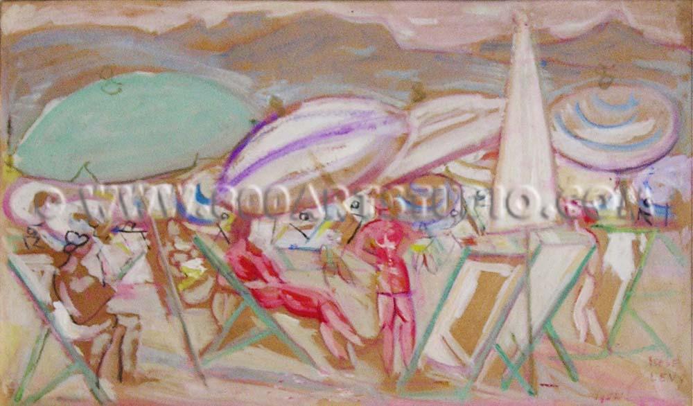 Moses Levy - Sulla spiaggia