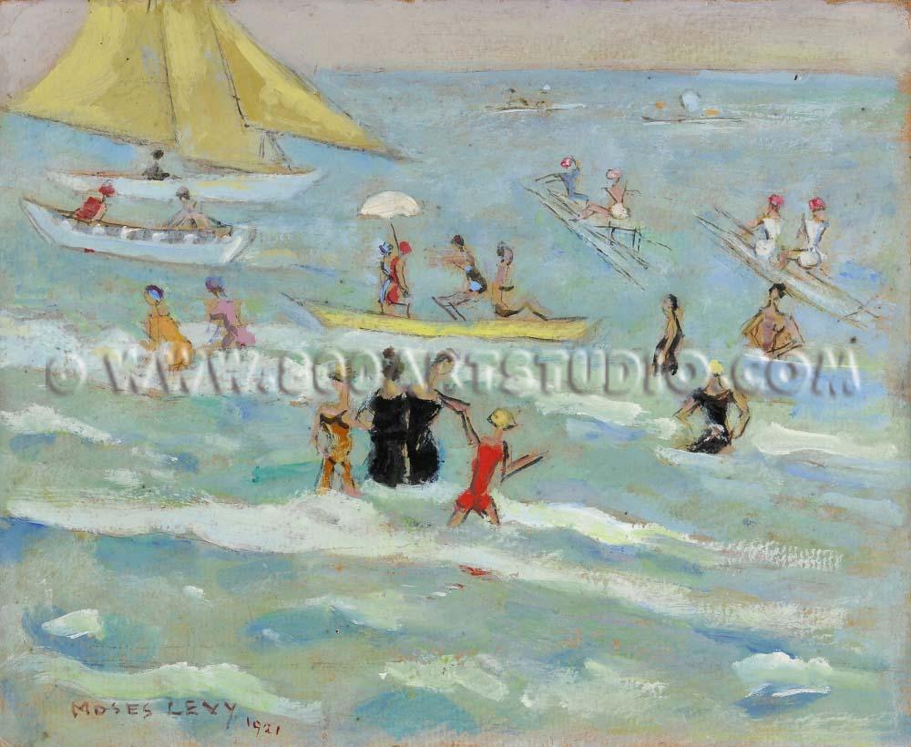 Moses Levy - Vita di spiaggia