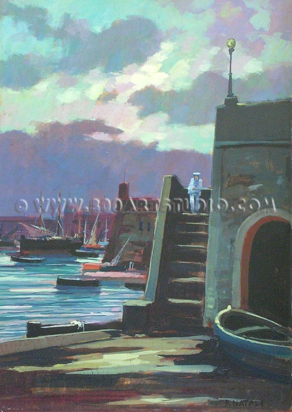 Renato Natali - Al porto