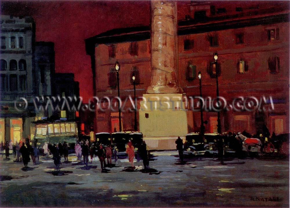 Renato Natali - Piazza Colonna