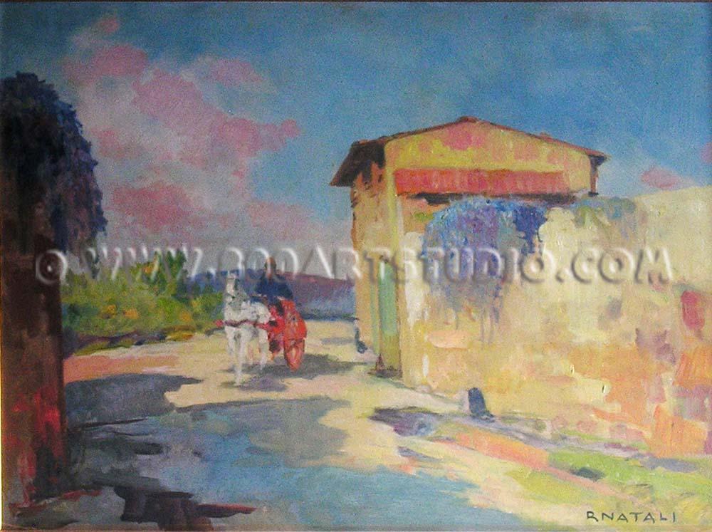 Renato Natali - Strada di campagna