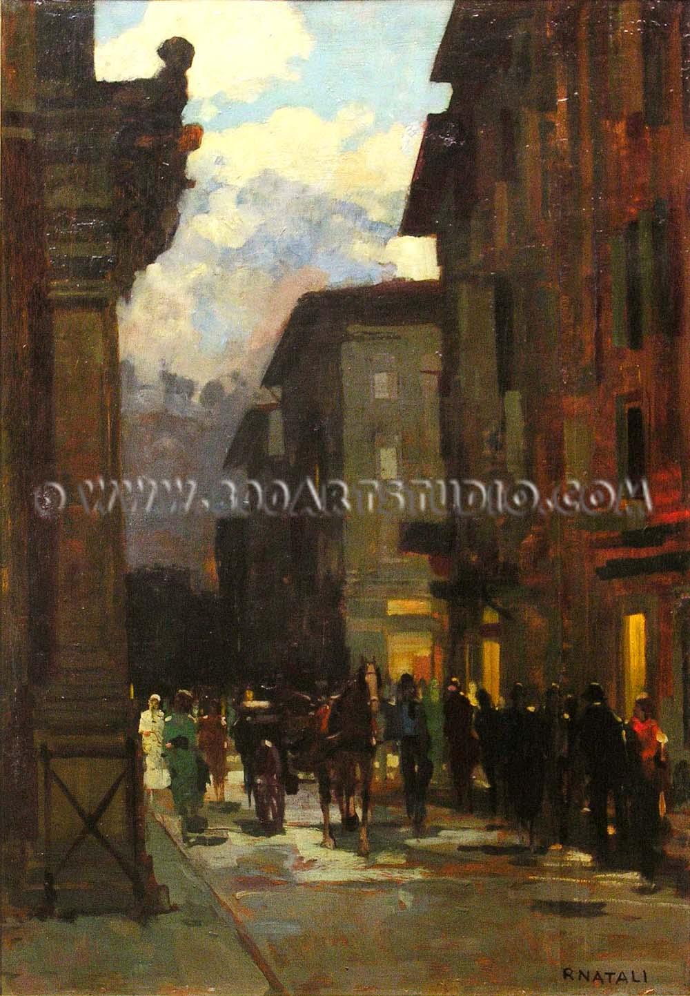Renato Natali - Strada di Livorno