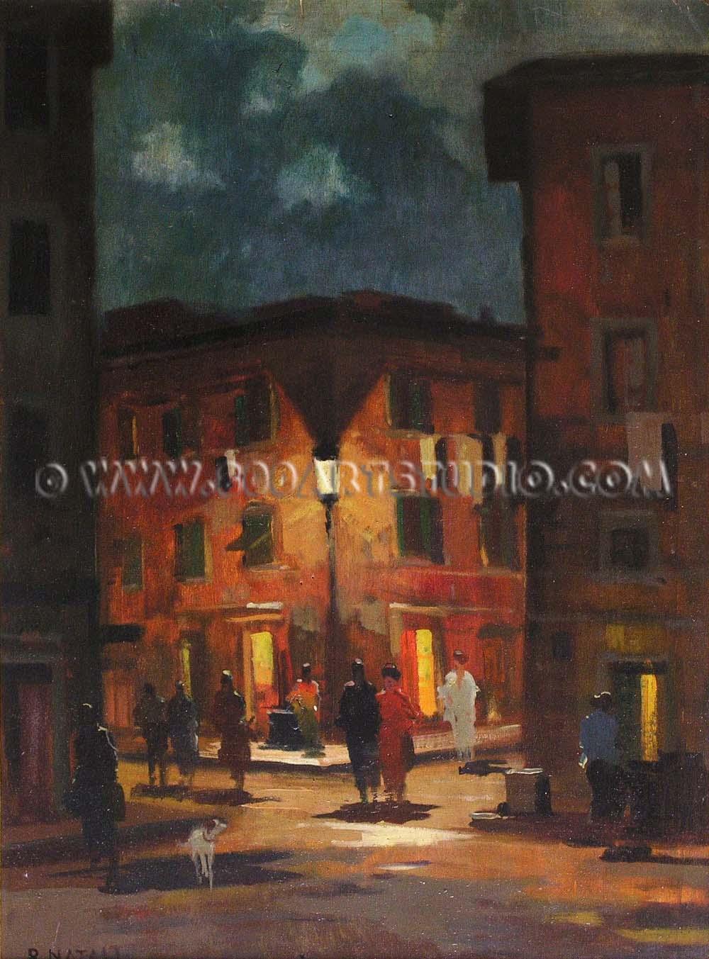 Renato Natali - Vecchia strada livornese