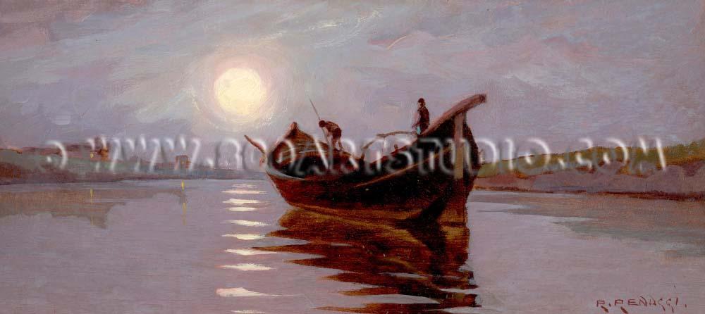 Renuccio Renucci - Becolino al chiaro di luna