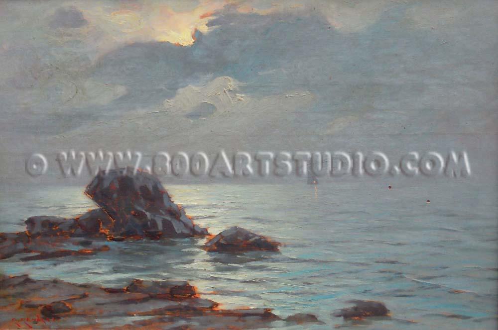 Renuccio Renucci - Vela all'orizzonte