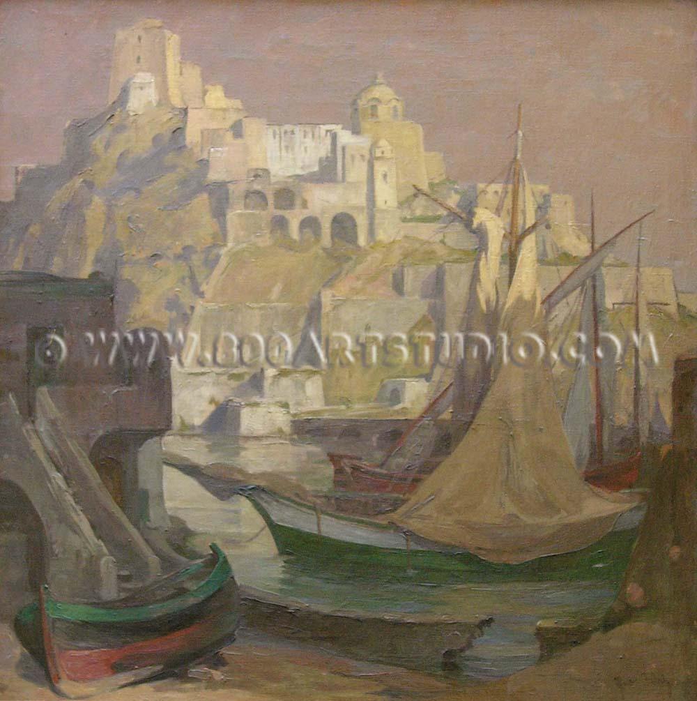 Theodor Walz - Castello d'Ischia – Aragonese