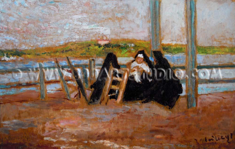 Ulvi Liegi - Le suore ai bagni Pejani